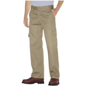 NWT Dickies Relaxed Fit Cargo Work Pants Size 12